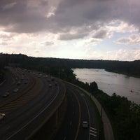 Photo taken at Connecting Railway Bridge by Sherlen A. on 7/3/2013