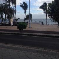 Photo taken at Avda De Las Playas by Jeroen Z. on 3/9/2014