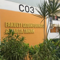 Photo taken at Faculty of Geoinformation and Real Estate by AusTuAus™ on 6/20/2016