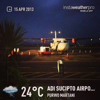 Photo taken at Adisutjipto International Airport (JOG) by Eshape B. on 4/14/2013