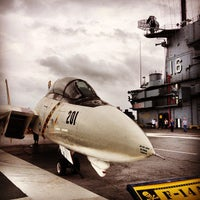 Photo taken at USS Lexington Museum On The Bay by Crispin B. on 3/30/2013