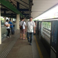 Photo taken at Yishun MRT Station (NS13) by Si M. on 7/14/2013