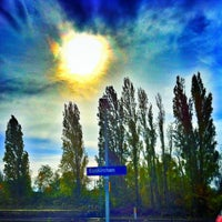 Photo taken at Bahnhof Euskirchen by Sally W. on 1/9/2013