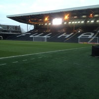 Photo taken at Craven Cottage by Jack W. on 3/1/2013