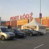 Photo taken at Port Łódź by Anna on 12/22/2012