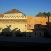 Photo taken at Saadian Tombs by Lorena C. on 12/15/2012