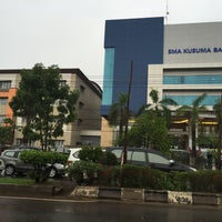 Photo taken at SMA Kusuma Bangsa by Indra G. on 11/26/2015