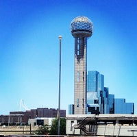 Photo taken at Reunion Tower by Aaron K. on 6/30/2013