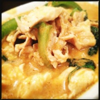 Photo taken at Thai Rama by Cody H. on 12/30/2012