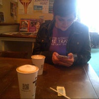 Photo taken at Uptown Espresso by Matt M. on 3/26/2013