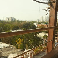 Photo taken at Nauratan Roof Top (Maisonette) by Umer M. on 4/8/2015