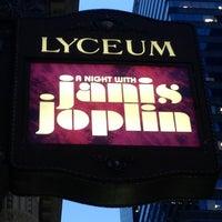 Photo taken at Lyceum Theatre by Scott H. on 10/10/2013