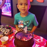 Photo taken at Chuck E. Cheese's by Lisa L. on 8/20/2016
