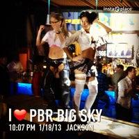Photo taken at PBR Big Sky by DJ Soap on 1/19/2013