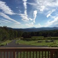 Photo taken at Fox Meadow Winery by Ryan K. on 10/4/2014