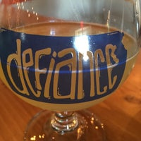 Photo taken at Defiance Brewing Co. by Jordan S. on 7/23/2016