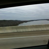 Photo taken at Tennessee River Bridge by Wesley S. on 1/22/2013