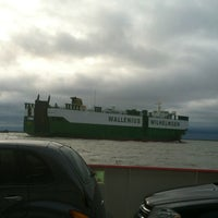 Photo taken at Galveston - Bolivar Ferry by Susan S. on 1/15/2013