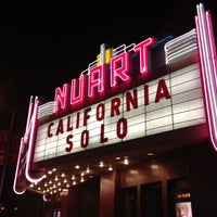 Photo taken at Nuart Theater by Zachary S. on 12/8/2012