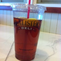 Photo taken at McAllister's Deli by Chris A. on 2/15/2013