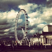 Photo taken at The London Eye by Ekaterina B. on 6/13/2013