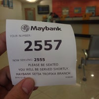 Photo taken at Maybank Premier Wealth Centre by Azril S. on 12/16/2015