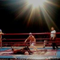 Photo taken at Arena Adolfo Lopez Mateos by Marianita Ü. on 3/21/2016