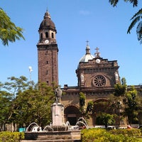 Photo taken at Cathedral-Basilica of the Immaculate Conception of Manila (Manila Cathedral) by Luis Anthony O. on 3/12/2013