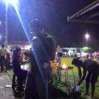 Photo taken at Alun-Alun Cilacap by Susy W. on 1/9/2016