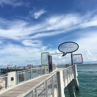 Photo taken at South Pointe Pier by Najd A. on 9/10/2016