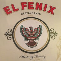 Photo taken at El Fenix Restaurant by Elaine P. on 2/23/2013