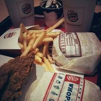 Photo taken at Burger King by Bianca Levina M. on 2/21/2013