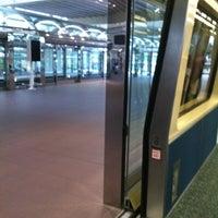 Photo taken at Tram To Gates 60-99 by Jamie N. on 10/2/2012