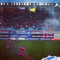 Photo taken at Arena Khimki by Peter P. on 10/21/2012