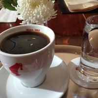 Photo taken at Julius Meinl Coffee House by Marissa W. on 1/2/2013