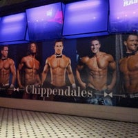Photo taken at Chippendales Theatre at The Rio Vegas by M Y. on 11/30/2012