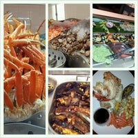 Photo taken at Village Seafood Buffet by M Y. on 11/30/2012
