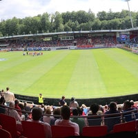 Photo taken at Voith-Arena by Pappklappe on 7/26/2015