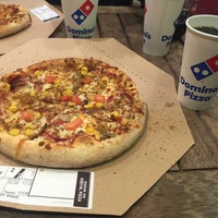 Photo taken at Dominos Pizza by Kadir Ö. on 1/13/2016