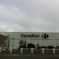 Photo taken at Carrefour by Emilie O. on 12/9/2012