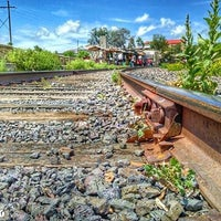 Photo taken at Ferrocarril Chihuahua Pacífico (Chepe) Estación Divisadero by Emanuel R. on 10/17/2016