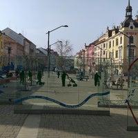 Photo taken at Lannova Třída by Veronika C. on 4/1/2014