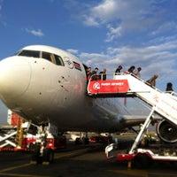 Photo taken at Jomo Kenyatta International Airport (NBO) by Thanapat Y. on 9/27/2013