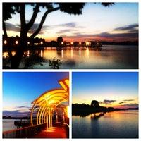Photo taken at Lower Seletar Reservoir Park by Ranggie P. on 3/17/2013