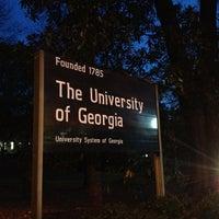 Photo taken at University of Georgia by Michael W. on 11/26/2012