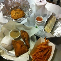 Photo taken at Army Navy Burger + Burrito by Roselyn on 11/2/2012