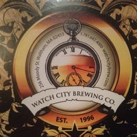 Photo taken at Watch City Brewing Co. by Joe C. on 4/29/2013