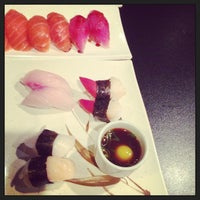 Photo taken at Hiroba Sushi by Nico A. on 4/18/2013