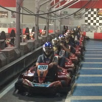 Photo taken at K1 Speed Carlsbad by Christien L. on 11/4/2013