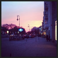 Photo taken at Hermannplatz by Lennart Q. on 4/19/2013